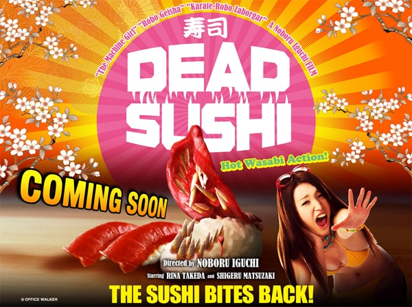 Fantasia 2012: Exclusive Still from Noboru Iguchi's Dead Sushi