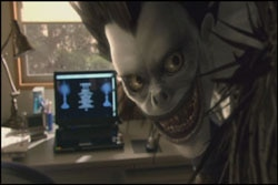 Death Note DVD review (click for larger image)
