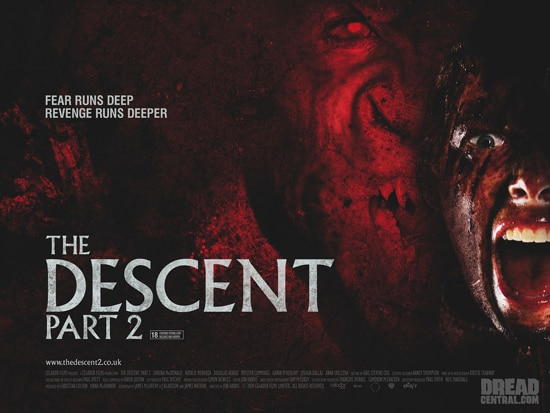 New Quad Poster for The Descent  Part 2 (click for larger image)