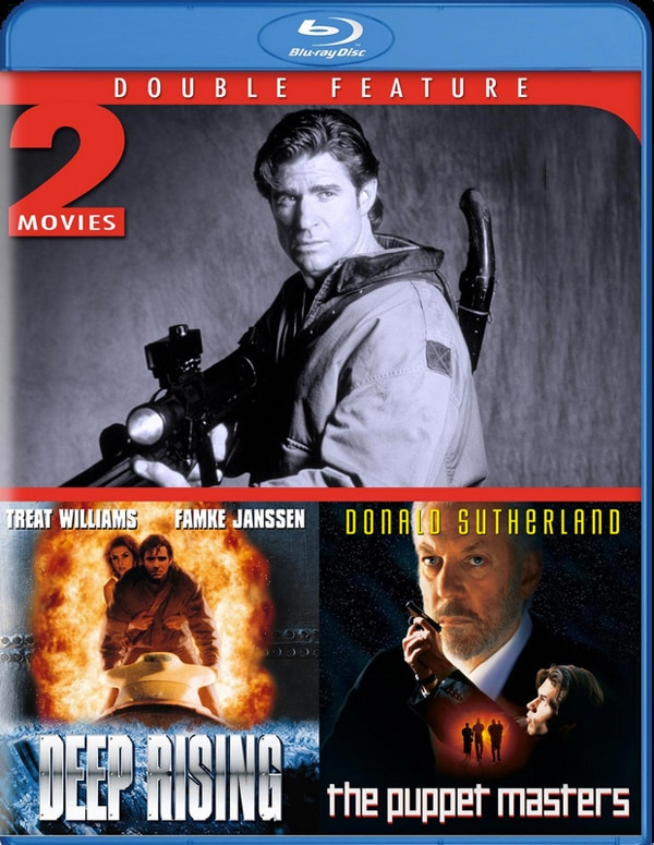 deepmasters - Deep Rising and The Puppet Masters Hitting Blu-ray!