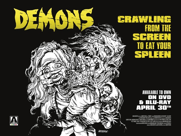 Win a Demons Blu-ray Prize Pack Straight from the UK to Your Door
