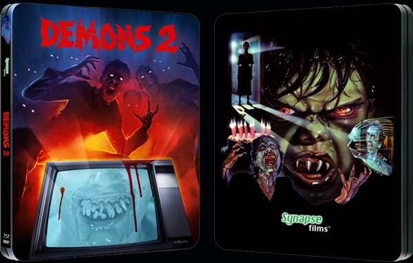 demons 2 steelbook - Synapse Shows Off its Demons and Demons 2 Blu-rays