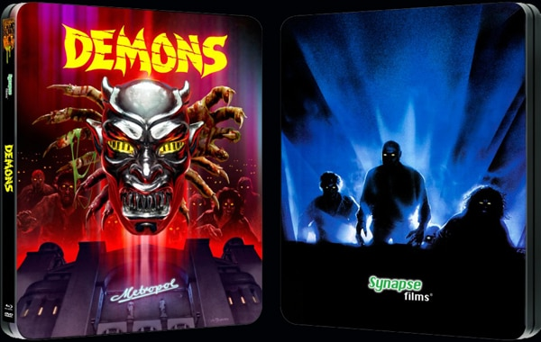 demons steelbook - Synapse Shows Off its Demons and Demons 2 Blu-rays