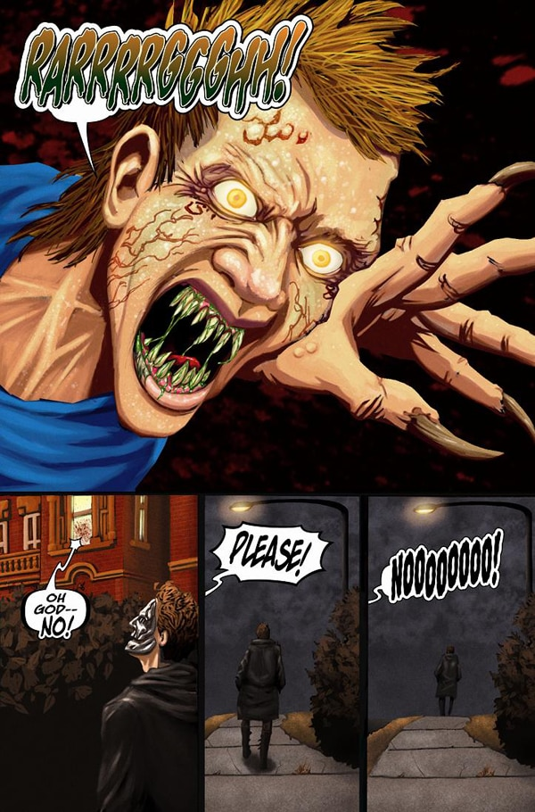 New Demons and Demons 2 UK DVD on the Way! Preview of Stefan Hutchinson's Demons 3 Comic!