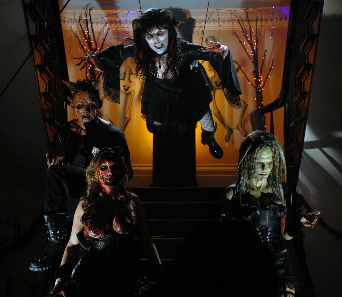 New Production Stills and Release Date for Gierasch's Night of the Demons (click for larger image)