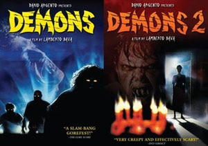 Demons and Demons 2 DVDs (click for larger image)