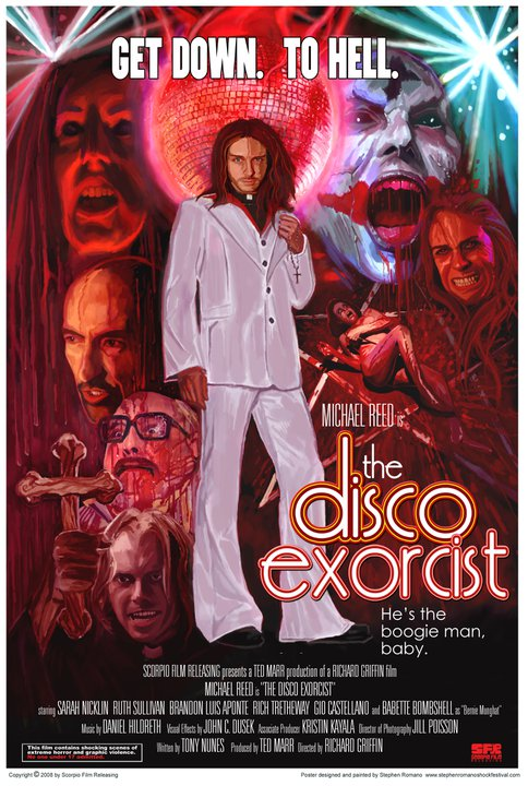 Poster Debut for The Disco Exorcist; Premiere Set for February 12th