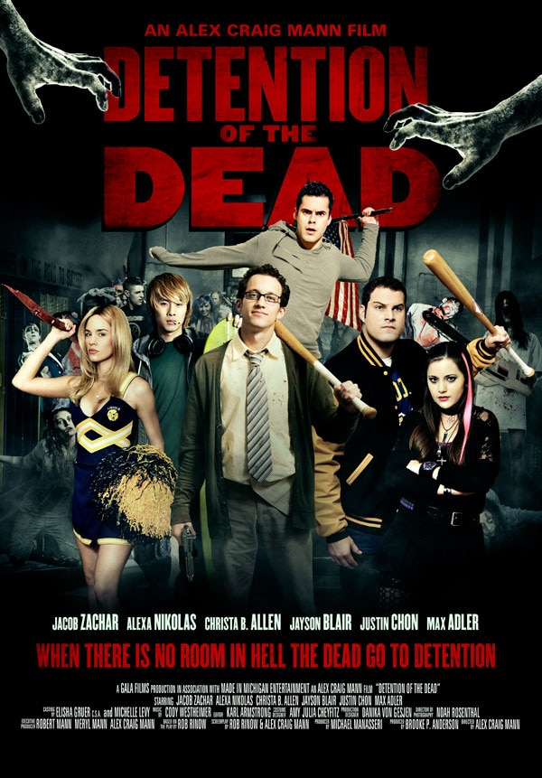 detention of the dead - New One-Sheet and Trailer for Detention of the Dead Rises from the Grave
