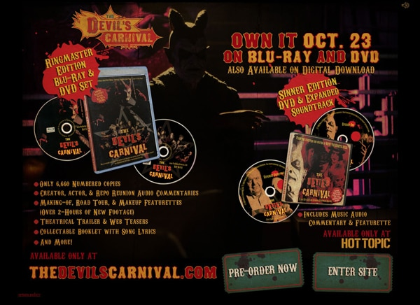 devcarn - The Devil's Carnival Travels Home in October