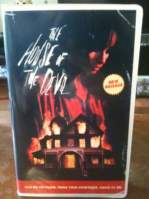 Badass House of the Devil Collectible VHS