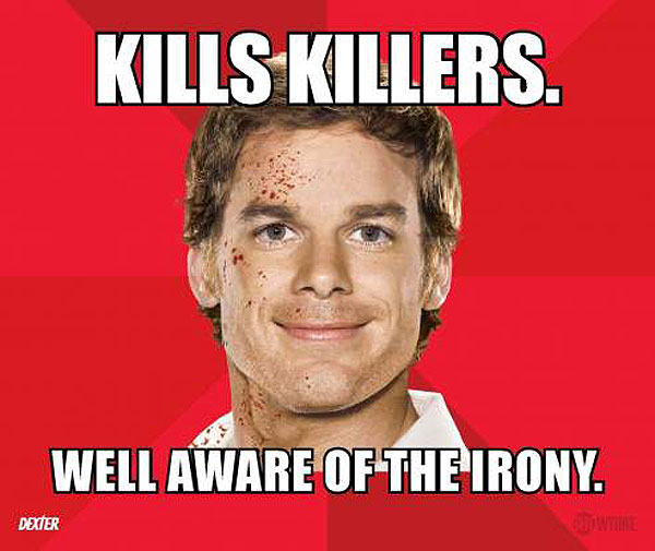 San Diego Comic-Con 2012: Dexter Goes Meme with New Promo Posters