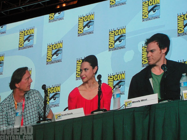 dexsdcc1 - San Diego Comic-Con 2012: Dexter Panel Highlights; Watch the First Two Minutes of Season 7!