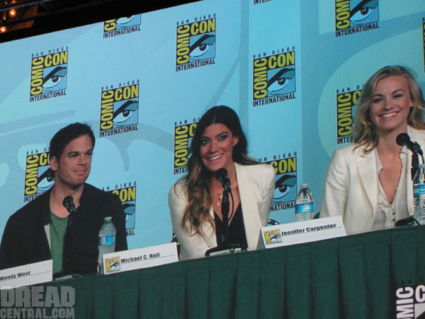 dexsdcc2 - San Diego Comic-Con 2012: Dexter Panel Highlights; Watch the First Two Minutes of Season 7!