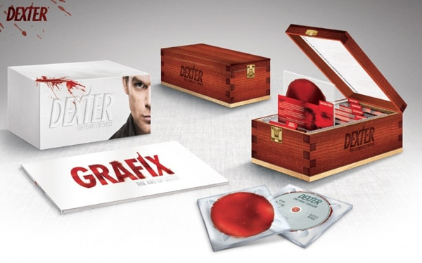 dexter boxset 2 - #SDCC 2013: First Look and Details - Dexter: The Complete Series Collection