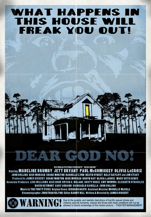 Another Amazing One-Sheet for Dear God No