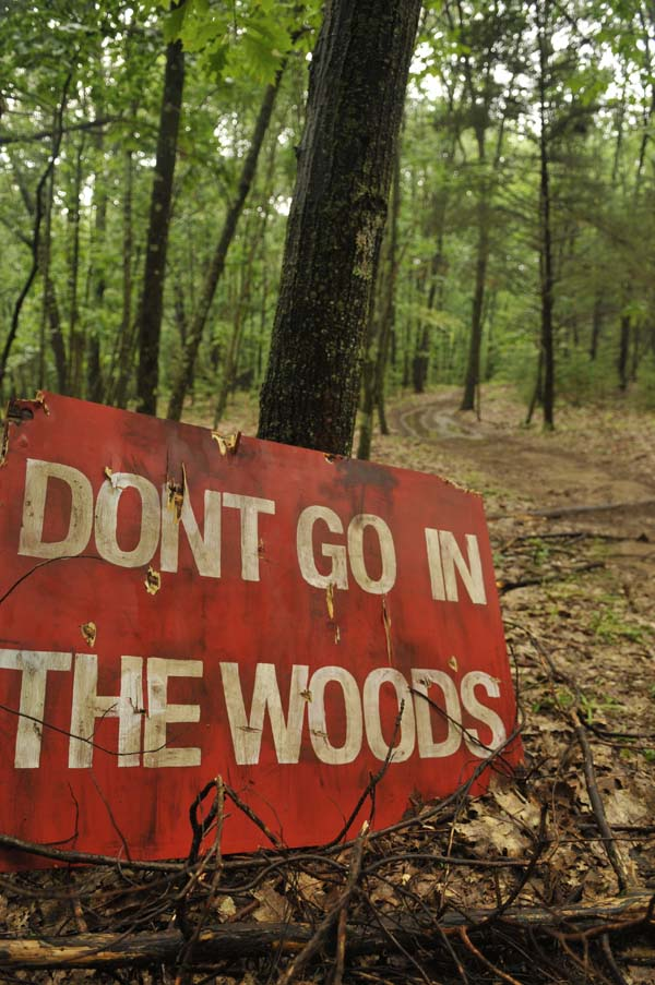 Vincent D'Onofrio Warns: Don't Go in the Woods