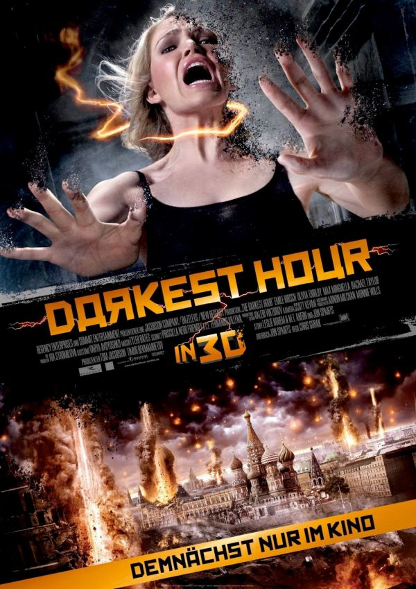 dhc - New Darkest Hour One-Sheet Disintegrates Before Our Eyes