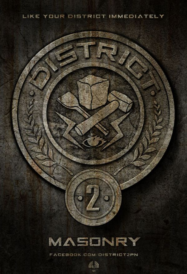 The Hunger Games: Lionsgate Reveals District 2 Seal and More!