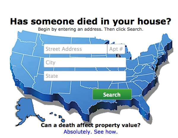 Died In Your House