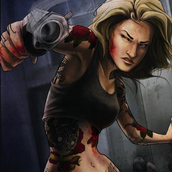 Zoe Bell Prints with The Devil's Ink