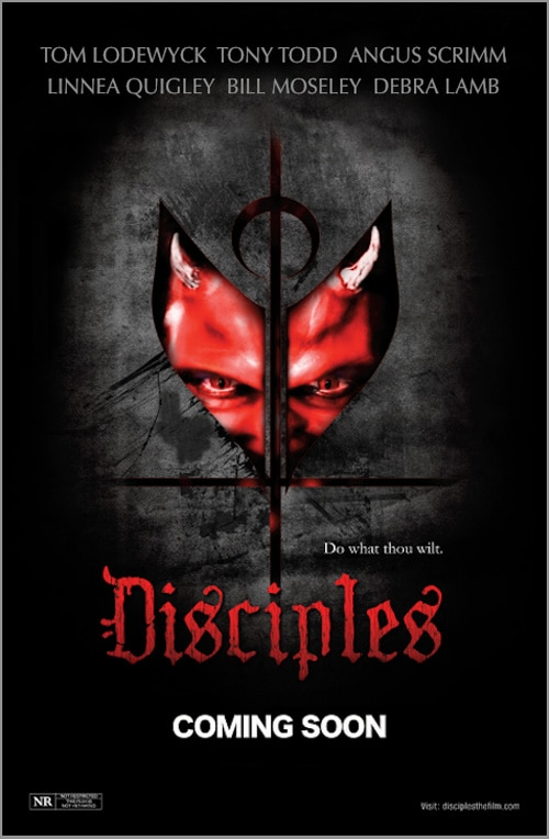 disciples poster - Disciples Gets Distribution and a New One-Sheet