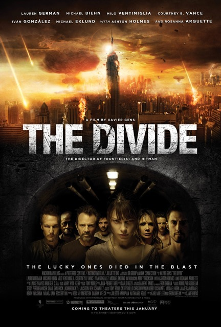 Updated Synopsis and Sales Art for Xavier Gens' The Divide