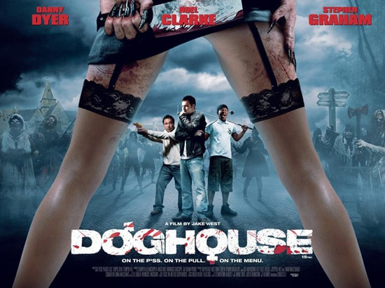 UK Quad Poster for Jake West's Doghouse (click for larger image)