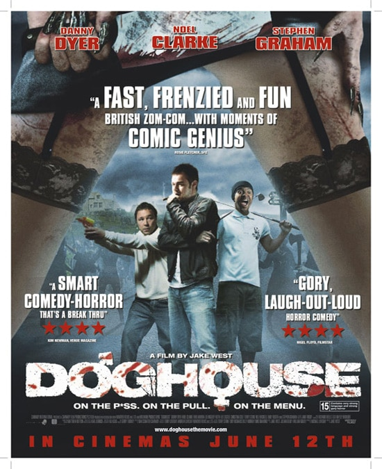 New One-Sheet for Doghouse (click for larger image)