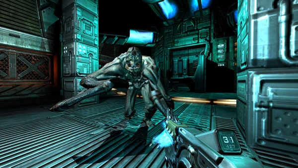 E3 2012: Insane New Screenshots for Doom 3: BFG Edition (click for larger image)