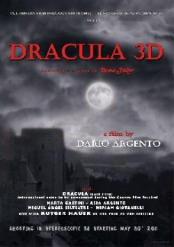 New Sales Art and In-Depth Synopsis: Dario Argento's Dracula 3D