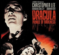 Dracula: Prince of Darkness Blu-ray Art and Specs