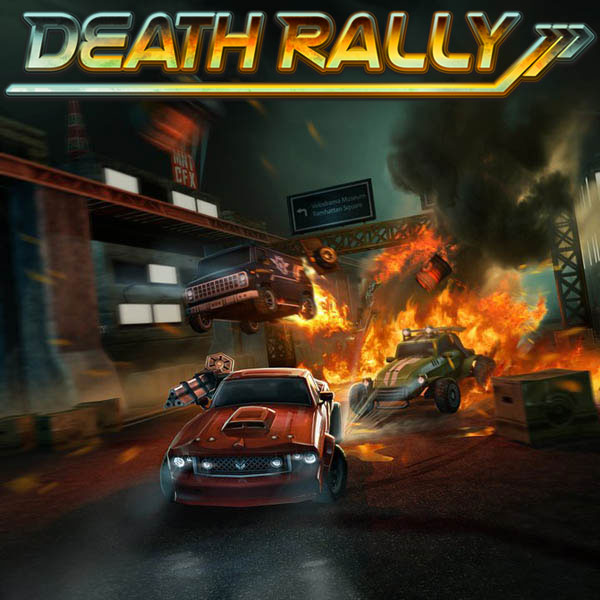 drally - Death Rally To Explode Onto Steam This Friday