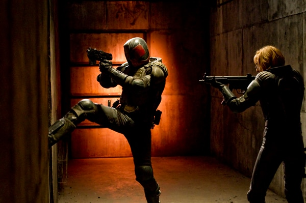 Breakin' the Law with New Stills, Clip, and Featurette from Dredd