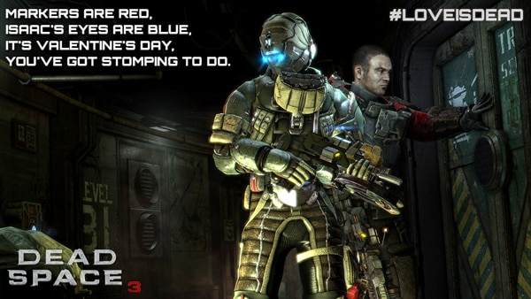 ds3v2 - Dead Space 3 Contest - Give Someone You Love the Gift of Strategic Dismemberment!