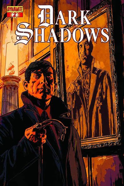 Artwork and Synopses of Dark Shadows Issues 1-3 from Dynamite Entertainment