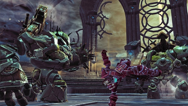 Screenshots from the Darksiders II Arena Survival Mode; Info on New Game+ Functionality