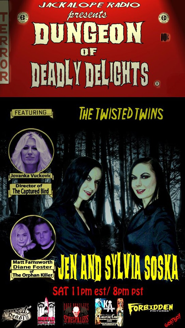 The Soska Sisters and More Enter The Dungeon of Deadly Delights