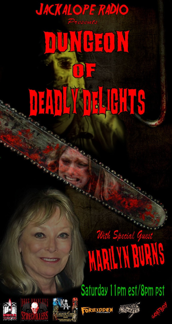 Marilyn Burns Enters The Dungeon of Deadly Delights