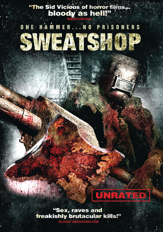 dvdsweat - Sweatshop Pounds its Way to Home Video
