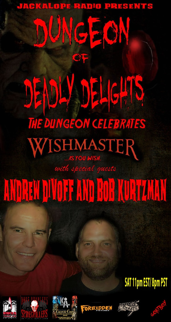 Andrew Divoff and Robert Kurtzman Enter The Dungeon of Deadly Delights