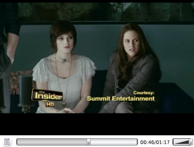 New Twilight Saga: Eclipse Clip Introduced by Robert Pattinson