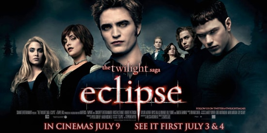 The Twilight Saga: Eclipse UK Banners and Outdoor Artwork Competition