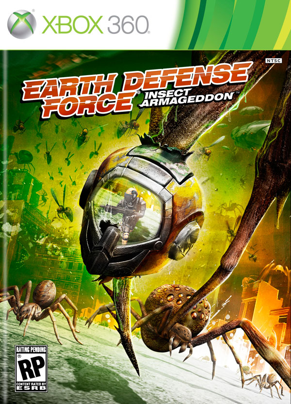 The Bugs Are Back! Earth Defense Force: Insect Armageddon - Teaser, Stills, and Art