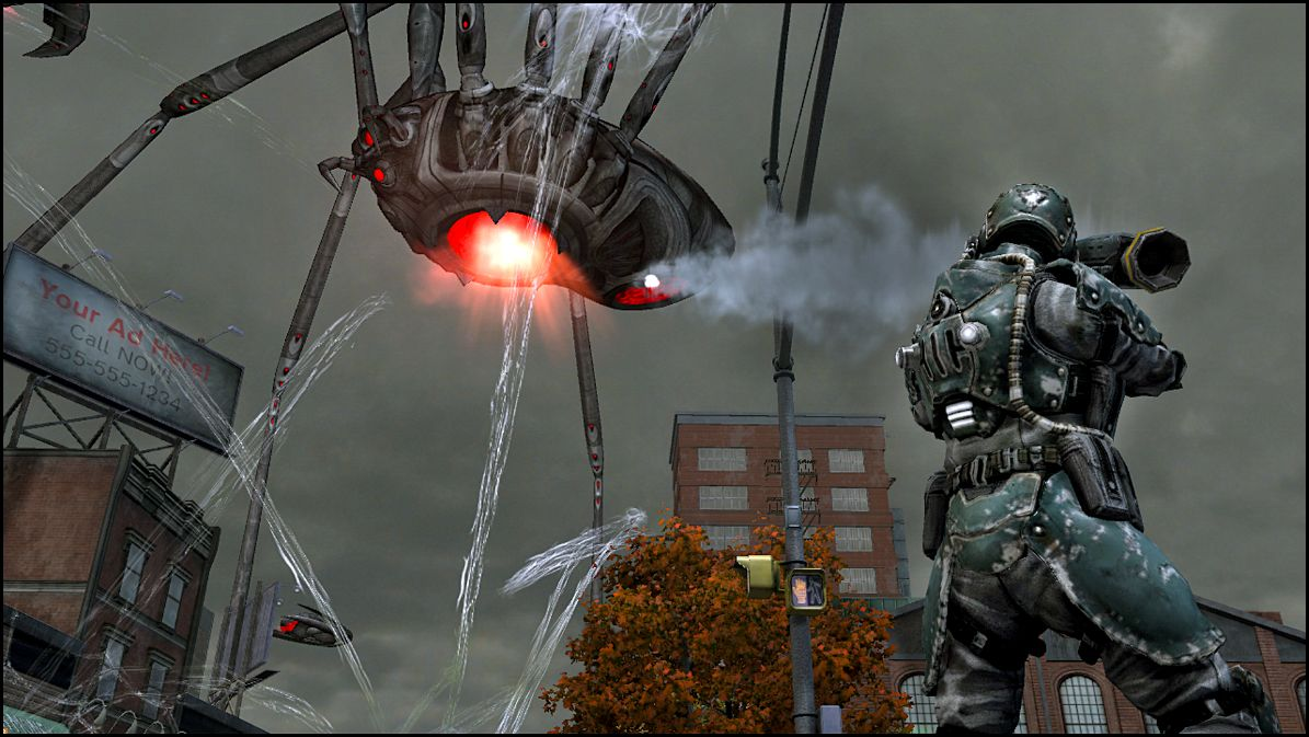 More Bug Busting Earth Defense Force: Insect Armageddon Imagery