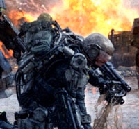 New Edge of Tomorrow Viral Images Go to War