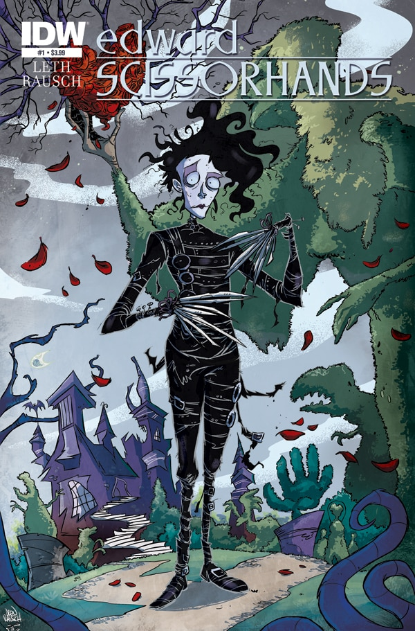 #SDCC14: IDW Announces Two New Comic Series: Garbage Pail Kids and Edward Scissorhands