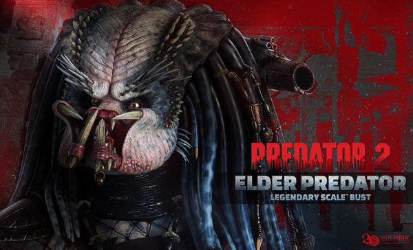#SDCC14: Get the First Look at Sideshow's Elder Predator; King Hulk and Life-Size Darth Vader Also Announced