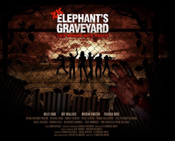 elephants graveyard art - Exclusive Teaser Trailer Premiere - Zombie Killers: Elephant's Graveyard