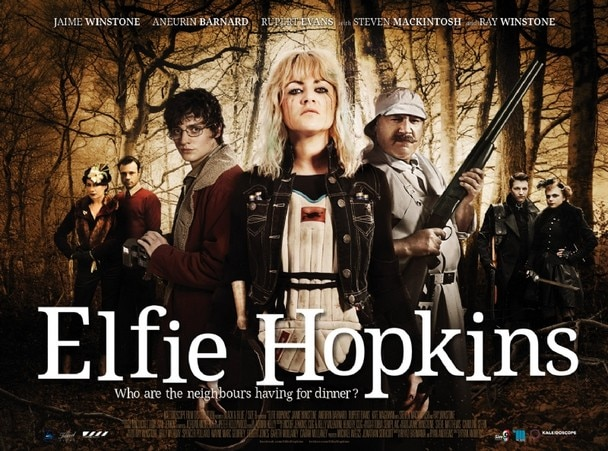Elfie Hopkins and Company Look Serious in New Quad One-Sheet