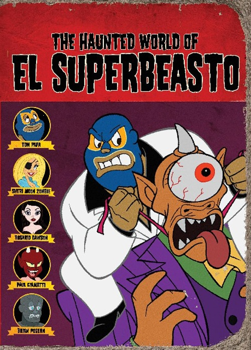 The Haunted World of El Superbeasto on Blu-ray and DVD